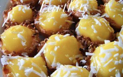 Lemon Macaroon Tartlets