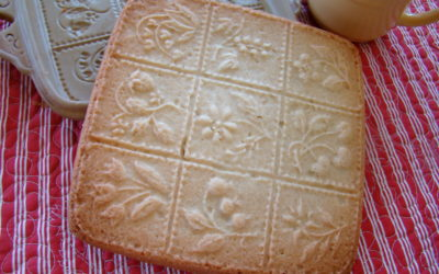 Purple Ribbon Short Bread